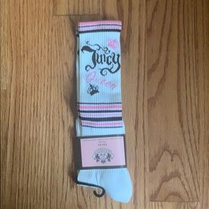 Brand NEW Juicy Couture High Socks.